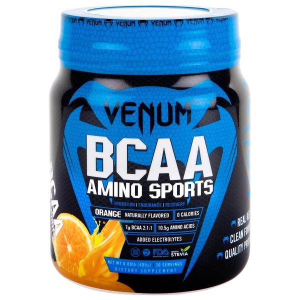 Nutrition Venum BCAA Amino Sports - 30 Servings-Orange