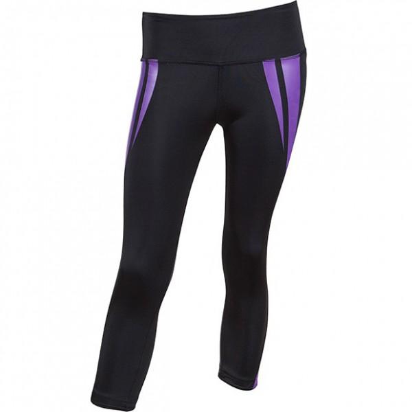 """Venum """"Body Fit"""" Leggings - Black/Purple"""