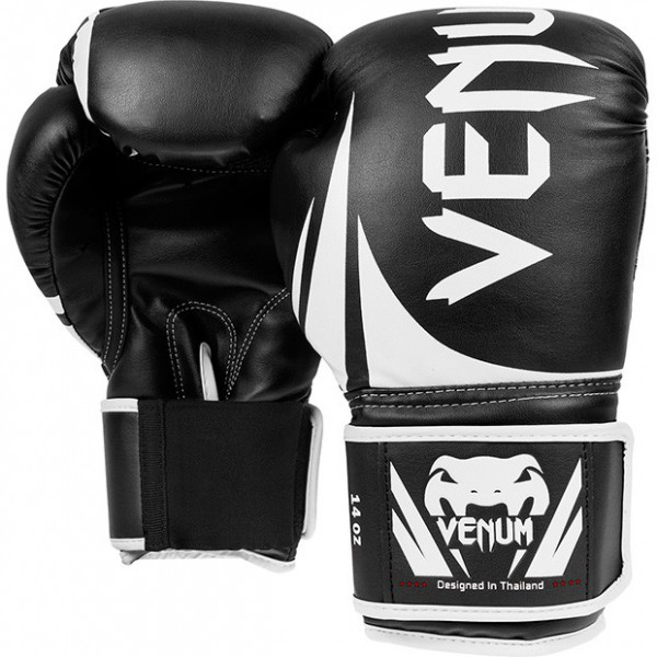 "Boxhandschuh Venum ""Challenger 2.0"" Boxing Gloves 12 Oz. - Black/White"
