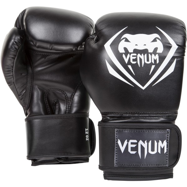 "Boxhandschuhe Venum ""Contender"" Boxing Gloves - Black 12 Oz"