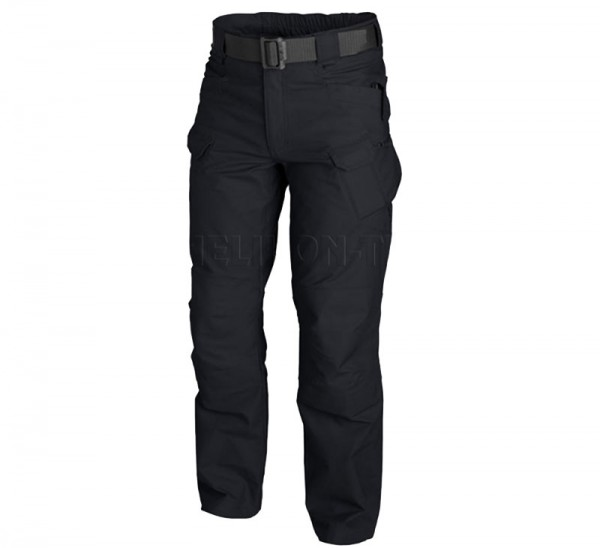 Hose HELIKON TEX URBAN TACTICAL PANTS UTP SCHWARZ CANVAS