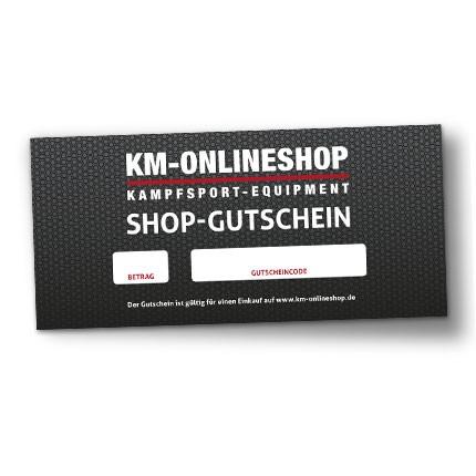 """Gutschein """"Shop"""" KM-Onlineshop"""