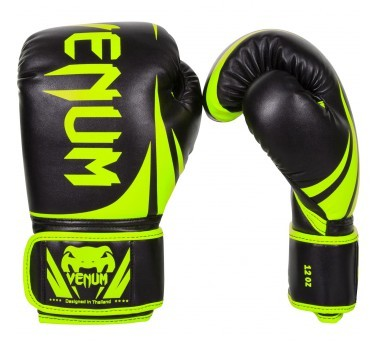 "Boxhandschuh Venum ""Challenger 2.0"" Boxing Gloves 12 Oz. - Yellow/Black"